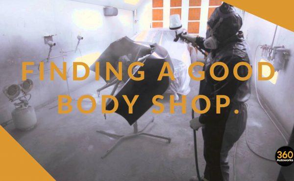 finding a good body shop